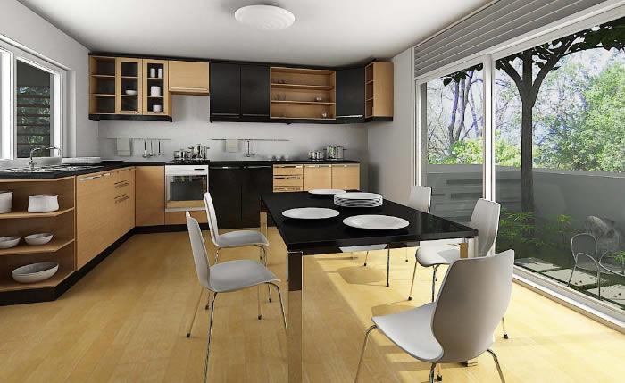 Thiết kế nội thất phòng ăn hợp phong thủy