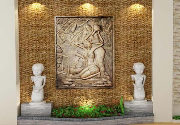 Điêu khắc đắp đúc tượng phù điêu thạch cao tại TP Vinh Nghệ An